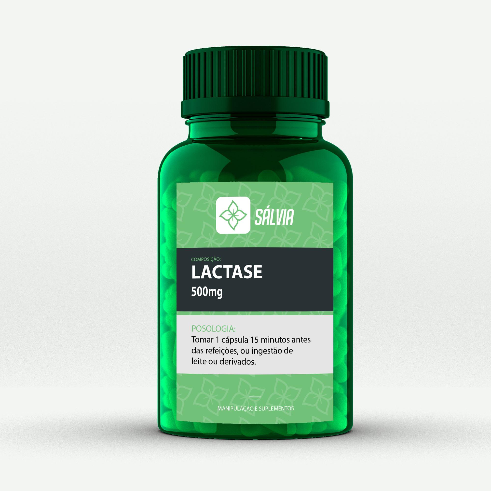 LACTASE 500mg – Cápsulas
