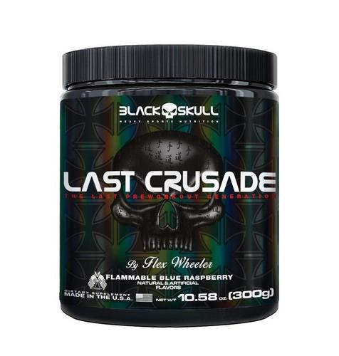 LAST CRUSADE BLUE RASPBERRY 150G – Black Skull