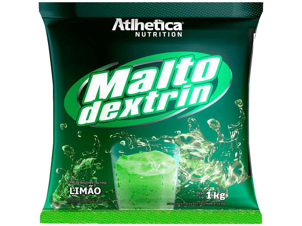 MALTODEXTRINA LIMA LIMÃO 1KG - Atlhetica