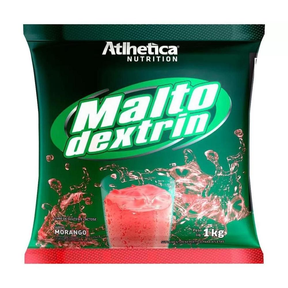 MALTODEXTRINA MORANGO 1KG - Atlhetica