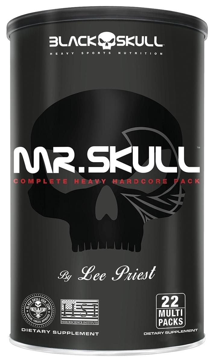 MR SKULL 22 MULTI PACKS - Black Skull