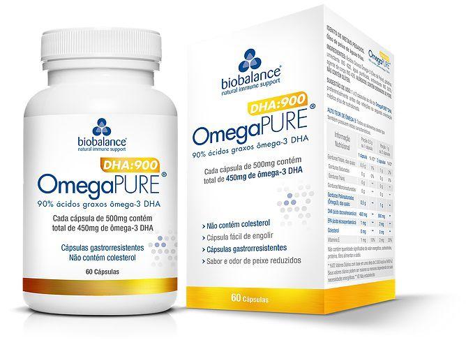 OMEGA PURE DHA:900 60 CAPSULAS - Biobalance