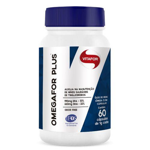 OMEGAFOR PLUS 1g 60 cápsulas – Vitafor