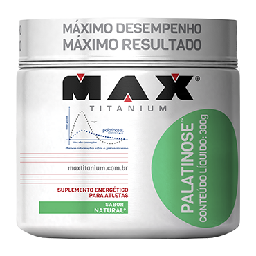 PALATINOSE 300g NATURAL – Max Titanium