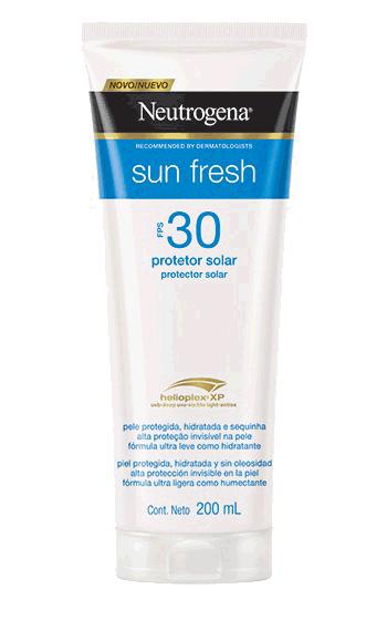 PROTETOR SOLAR SUN FRESH FPS 30 200ML - NEUTROGENA