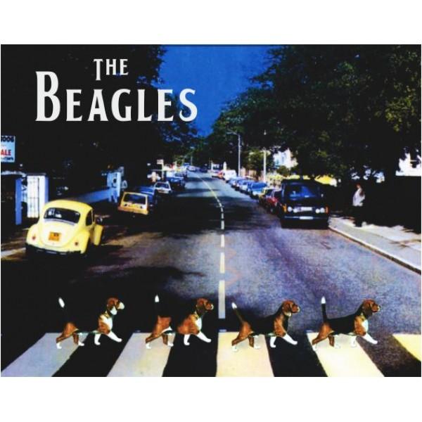 Quadrinho the Beagles  - Boutique Do Dog