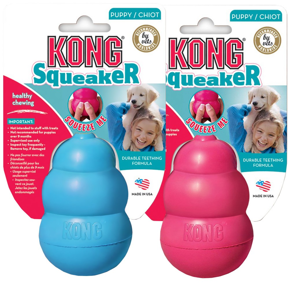 Kong Puppy Squeaker  - Boutique Do Dog