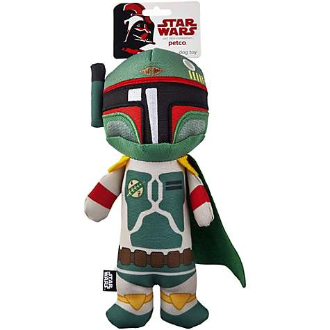 Boba Fett com Squeaker - Star Wars  - Boutique Do Dog