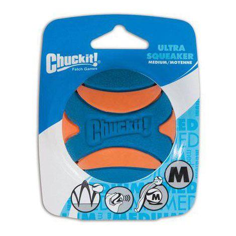 Chuckit Ultra Squeaker Ball  - Boutique Do Dog