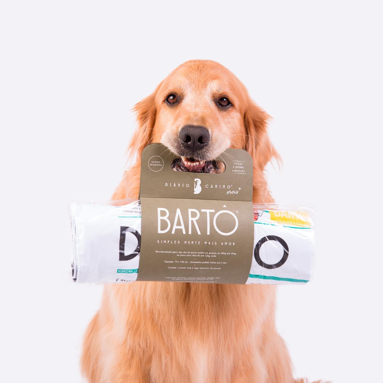 Diário Canino Bartô - Tapete Lavável  - BOUTIQUE DO DOG
