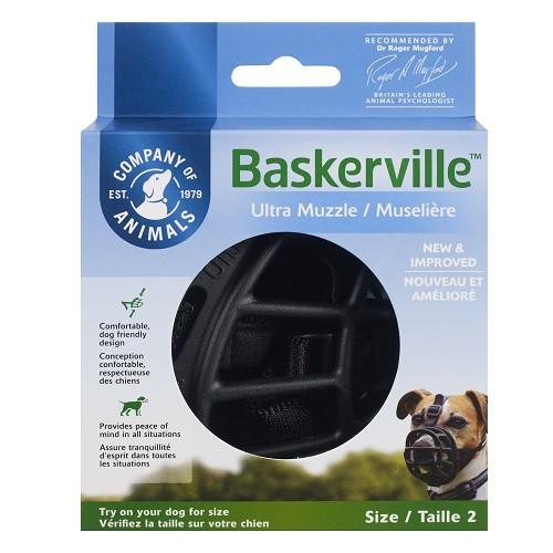Focinheira Baskerville   - Boutique Do Dog