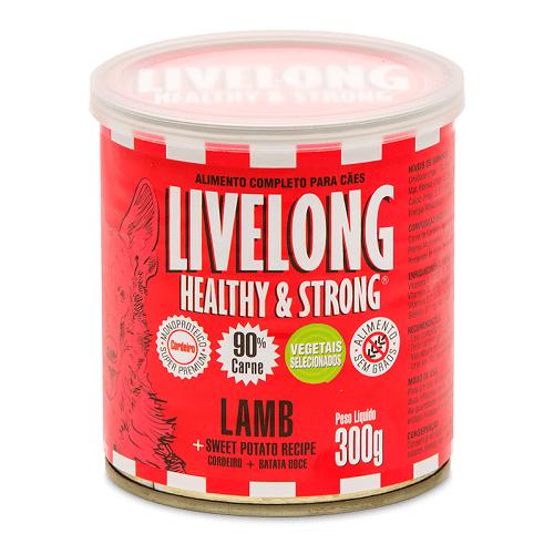 Livelong ração úmida: Carne, Frango, Peixe, Cordeiro   - Boutique Do Dog