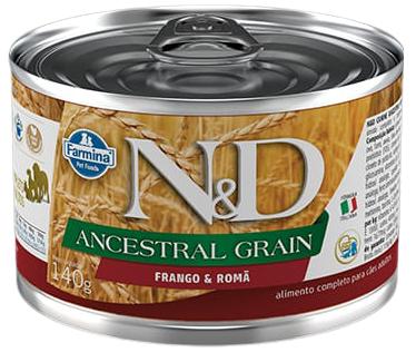 N&D Ancestral Grain frango úmida  - BOUTIQUE DO DOG