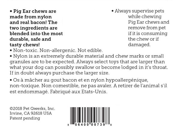 Orelha de Porco Bacon  - BOUTIQUE DO DOG