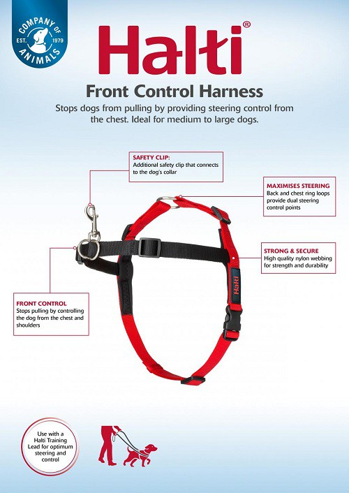 Peitoral Front Control Harness  - Boutique Do Dog
