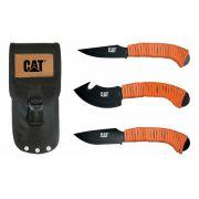 Kit facas 3 peças Caça Caterpillar ( 91-C725CP )