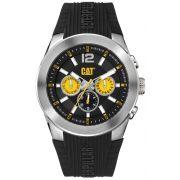 Relógio Masculino Caterpillar T7 preto pulseira de borracha ( AB14921137 )