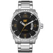 Relógio Masculino CATERPILLAR Mossville Date Assista Black Dial pulseira de aço inoxidavel ( AC14111121 )