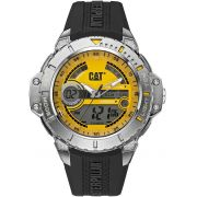 Relógio CATERPILLAR Anadigit pulseira de borracha preto ( MA15521731 )