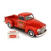 MINIATURA CHEVY PICKUP 1953 COCA-COLA COM COOLER M478104