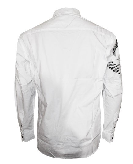 Camisa Social Armani Branca AR165  - ACKIMPORTS
