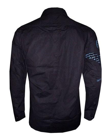 Camisa Social Armani Preta AR165  - ACKIMPORTS