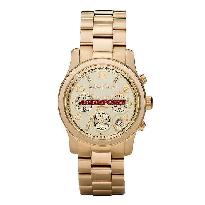 Relógio Feminino Michael Kors MK5055 - Dourado  - ACKIMPORTS