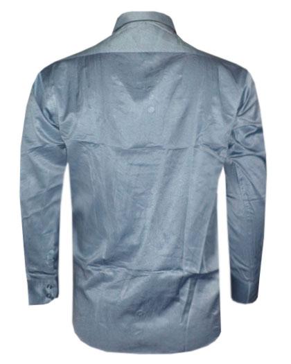 Camisa social Dudalina Chumbo e Preta DD1  - ACKIMPORTS