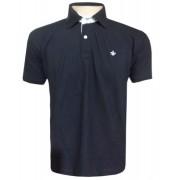 Camisa Polo Dudalina Preta - Ref 2018