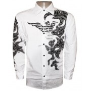Camisa Social Armani Branca AR165