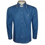 Camisa social Dudalina Azul Marinho DD1