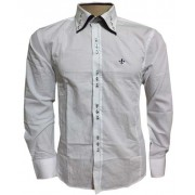 Camisa Social Dudalina  Branca - DD1