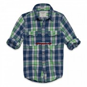 Camisa Xadrez Abercrombie AF4020