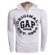 Camiseta Gap Manga Longa Branca G03