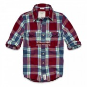 Camisa Xadrez Abercrombie AF4023