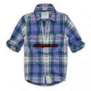 Camisa Xadrez Abercrombie AF4024