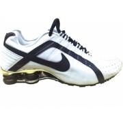 Nike Shox Junior Branco e Preto