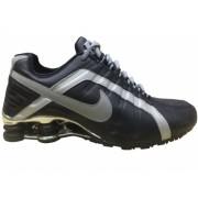 Nike Shox Junior Preto e Prata