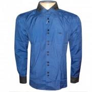 Camisa social Armani Azul Marinho e Preta GA63