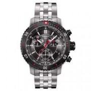 Relógio Masculino Tissot PRS 200 T067 - Preto e Vermelho