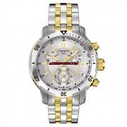 Relógio Masculino Tissot PRS 200 T067 - Branco e Dourado