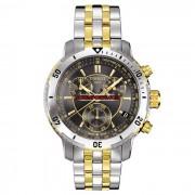 Relógio Masculino Tissot PRS 200 T067 - Preto e Dourado