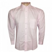 Camisa Social Hugo Boss Rosa Claro HB68