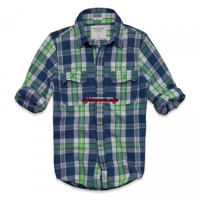 Camisa Xadrez Abercrombie AF4020  - ACKIMPORTS