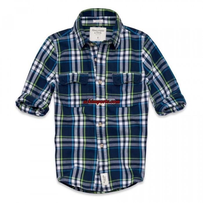 Camisa Xadrez Abercrombie AF4021  - ACKIMPORTS