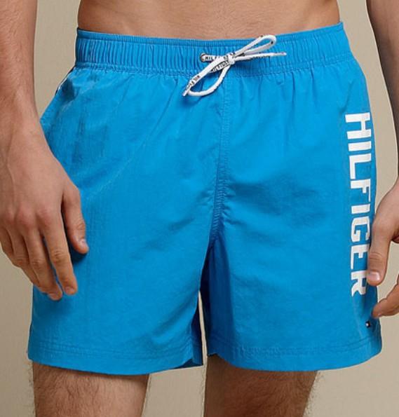 short tommy hilfiger azul  - ACKIMPORTS