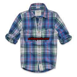 Camisa Xadrez Abercrombie AF4024  - ACKIMPORTS