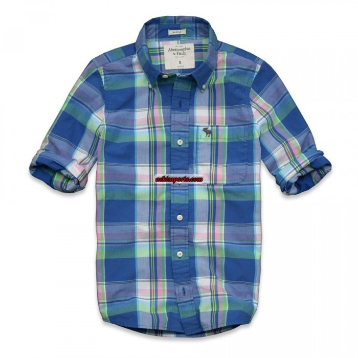 Camisa Xadrez Abercrombie AF4025  - ACKIMPORTS