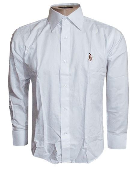 2ef531a488 Camisa Social Ralph Lauren Branca Lisa RL104 - ackimports-Tenis ...
