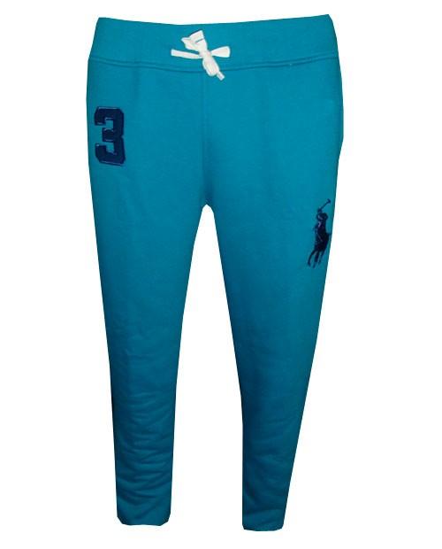 91dc9cb441f3f Calça de Moletom Ralph Lauren Azul Cadete - ackimports-Tenis ...